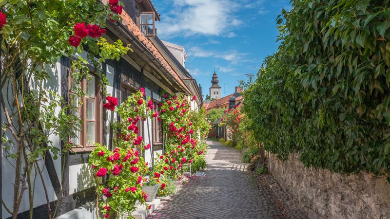 Cinderella kryssar till Visby