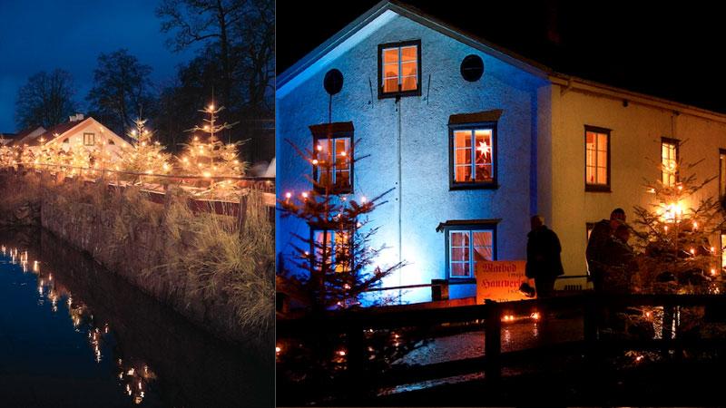 Julstämning på Huseby Bruk