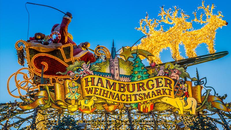 Julstämning i Hamburg
